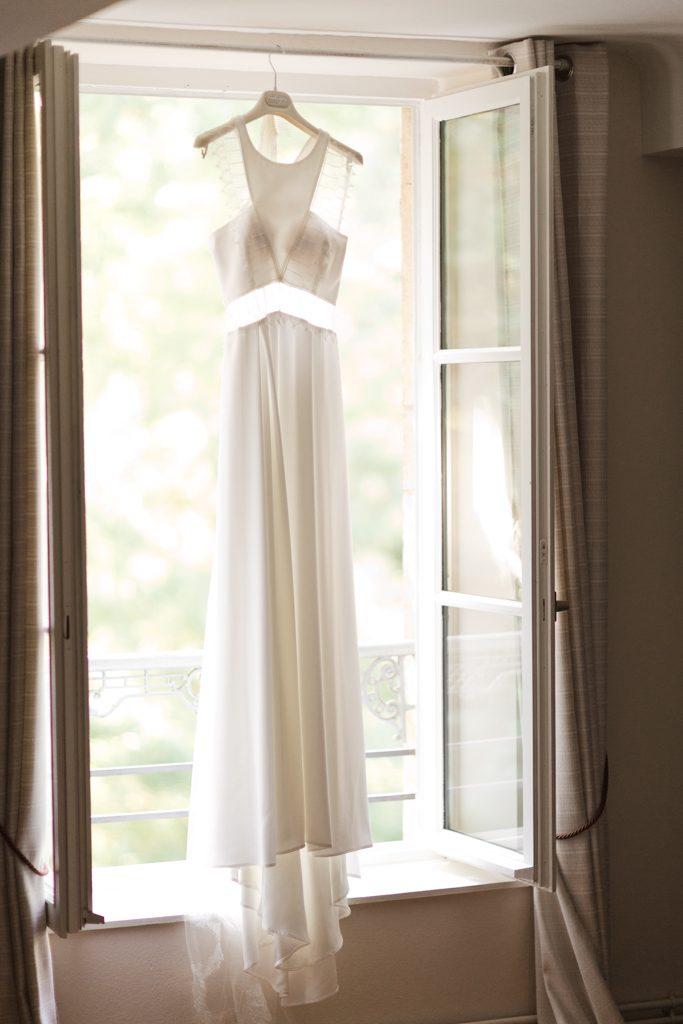 robe de mariage bohème chic pour mariée