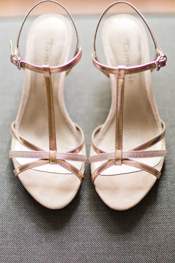 Chaussure de la mariée confortable en été idéal pour une mariée bohème