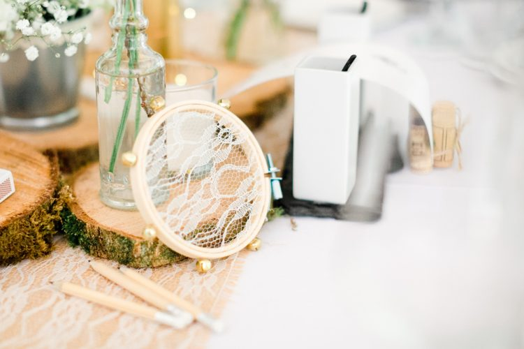 photo de detail decoration table mariage
