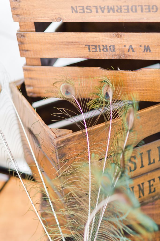 caisse en bois pour vos decoration de mariage champetre