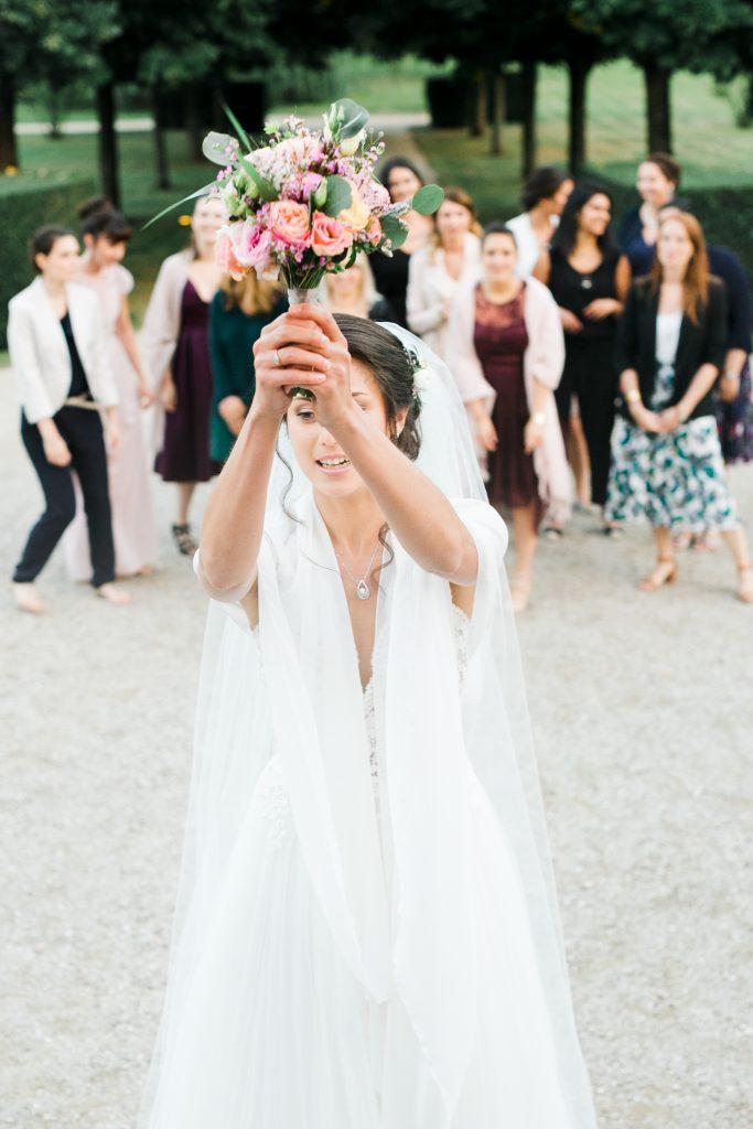 Photographe mariage Aube | Troyes | Nancy |Lancer de bouquet