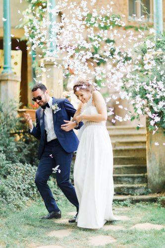 photographe de mariage Troyes.confétis mariage