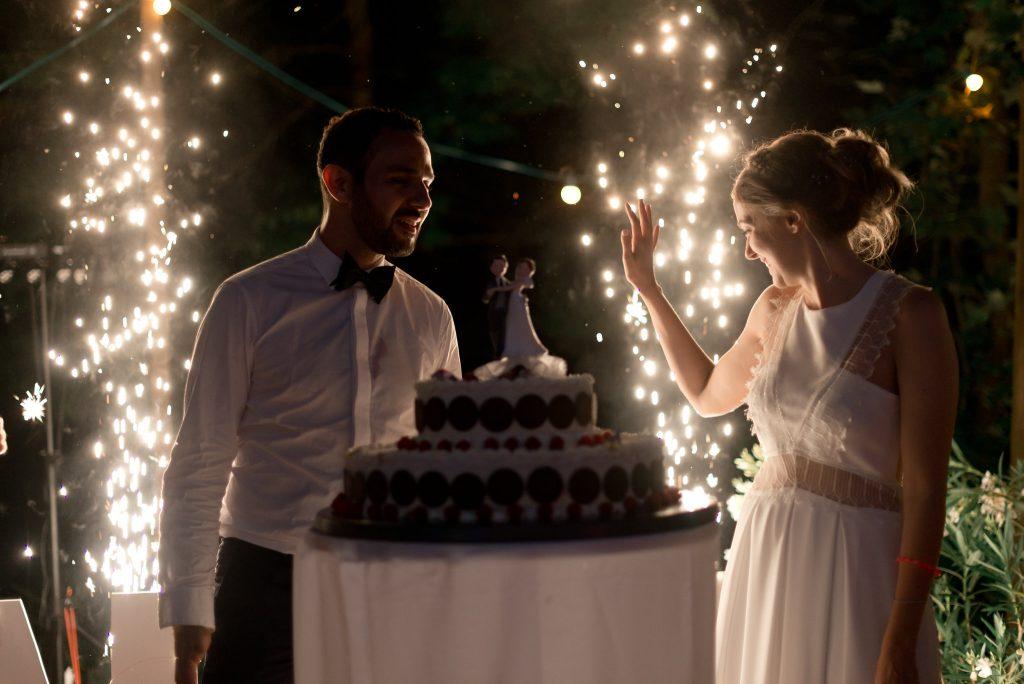 photographe professionnel mariage chic, pièce montée