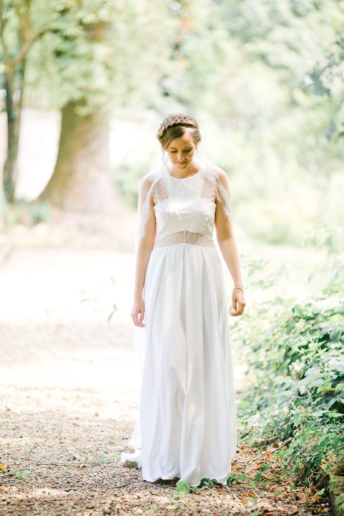 une robe bohème chic de la mariée