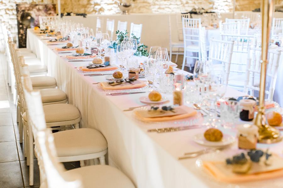 décoration table des mariés, photographe de mariage Luxembourg