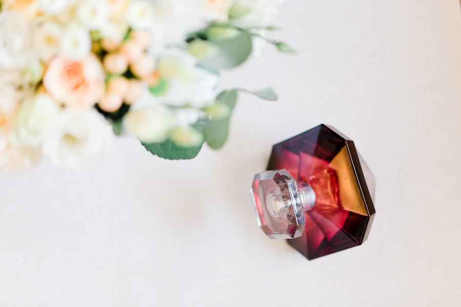 Parfum la nuit au trésor pour la mariée