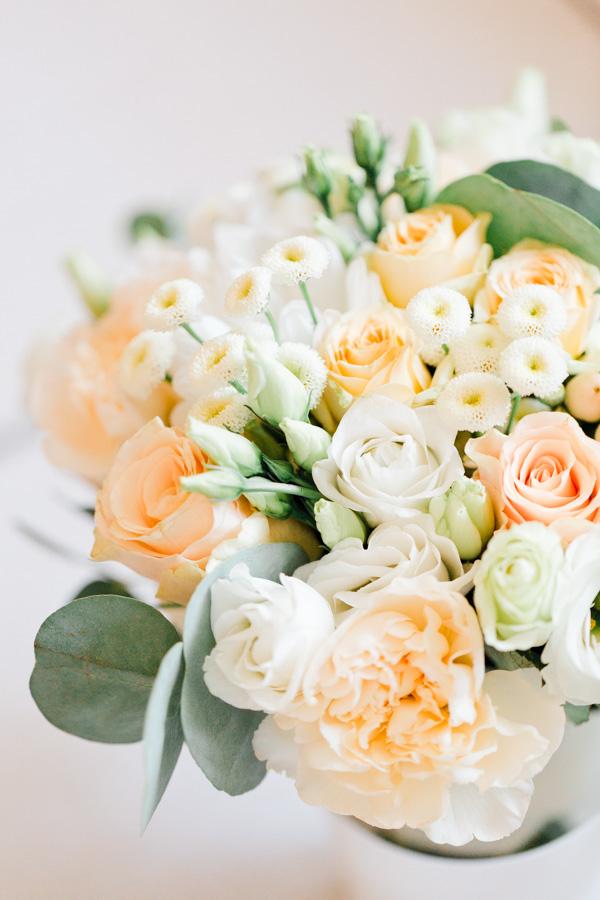 bouquet pastel de la mariée