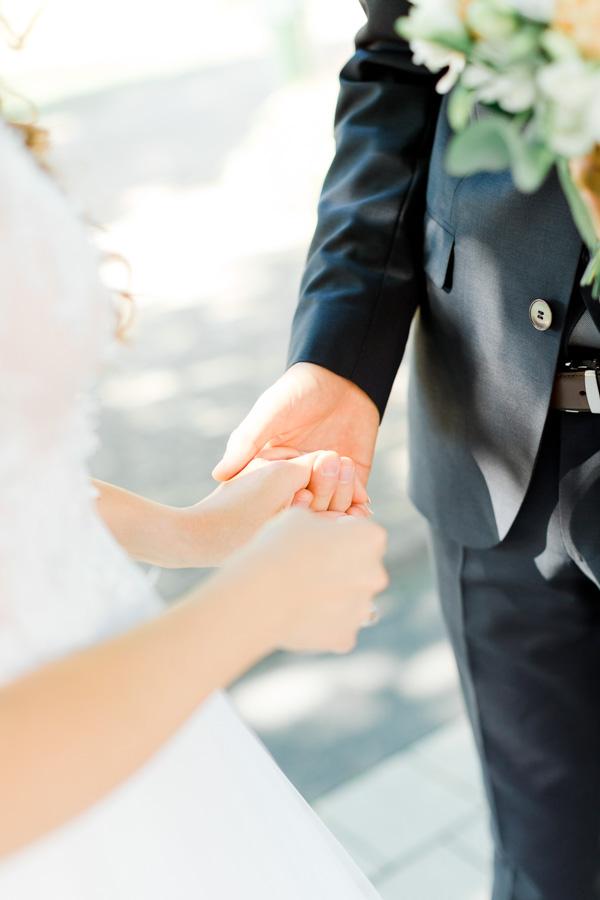 photo de couple dans un mariage au luxembourg