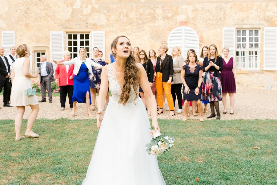 lancé de bouquet de mariage réussit, photographe de mariage Metz , Troyes, Luxembourg