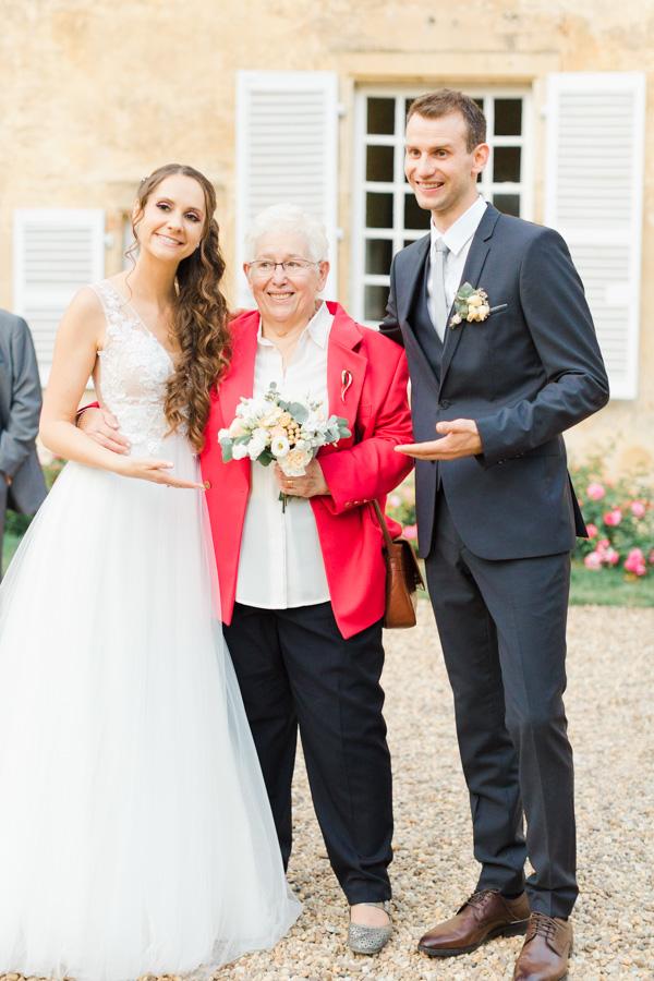 lancé de bouquet de mariage réussit, Troyes , Metz , Luxembourg