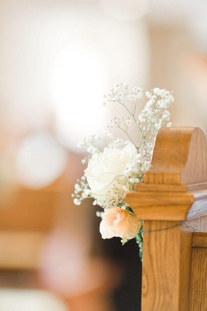 Fleur décoration pour église