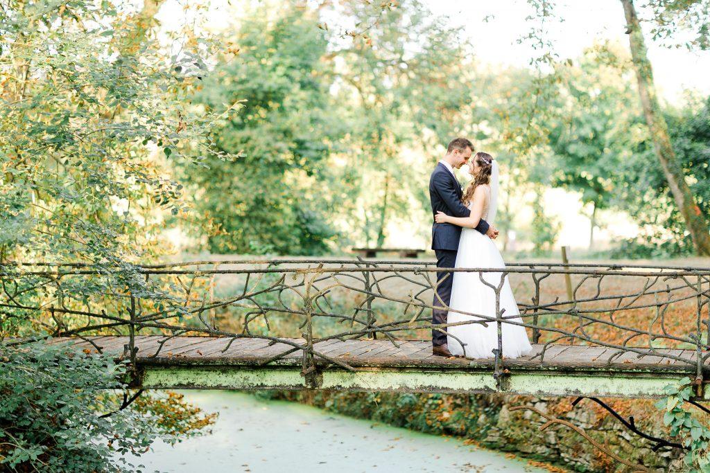photo de mariage couple en pleine nature